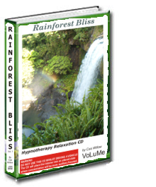 Rainforest Bliss Hypnotherapy Relaxation CD