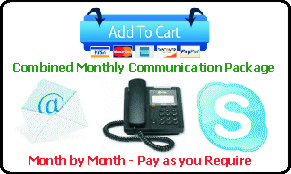 1 Month Combined Communications Package