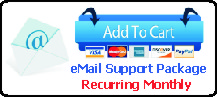 Recurring Monthly eMail Support