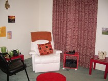 Therapy Room Two at CaS Therapy